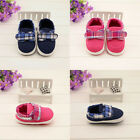 Baby girl boy leisure Crib Shoes soft soled Shoes Size 0-6 6-12 12-18 months