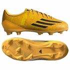 adidas F 10 TRX FG Messi 2014 Soccer Shoes Gold / Black New Kids Youth