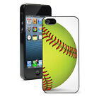 For Apple iPhone SE 5 5S 5c 6 6s 7 Plus Hard Case Cover 845 Softball Close Up
