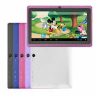 """Multi-Color 7"""" 4GB Tablet PC Google Android 4.2 Dual Core A23 1.5GHz Dual Camera"""