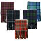 Scialle in tartan/plaid scozzese - 100% lana - Made in Scozia