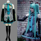 NEW Vocaloid Hatsune Miku Cosplay Anime Costume Free Shipping