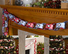 Christmas Paper Chain Decorations, Santa,Snowman,Reindeer, Rudolf, Party Penguin