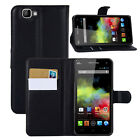 Leather Magnetic Flip Card Wallet Stand Bracket Case Cover For Wiko Cell Phone