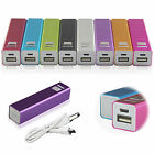 2600mAh Portable External USB Power Bank Battery Pack Charger For iphone Samsung