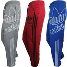 Adidas TREFOIL TP PANT men's fleece tracksuit pants bottoms red grey blue OP NEW