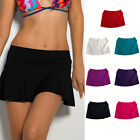 Beach Swimsuit Swimwear Bikini Short Style Summer Cover Up Solid Colour Skirt