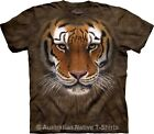 Tiger Warrior Mens T-Shirt by The Mountain - Free Postage! Sizes S-5XL! (AUST)