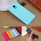 Elegant Colorful Housing PC Battery Back Cover Case For Samsung Galaxy Note 4