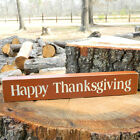 Happy Thanksgiving Wooden Sign  - Shelf Sitter - 21 Colors to Choose from!