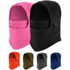 Men Fleece Balaclava Swat Ski Motorcycle Neck Face Mask Hood Hat Helmet Caps