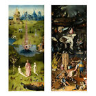 The Garden of Earthly Delights Hieronymus Bosch Full sizePrint Poster 31.5 x13''