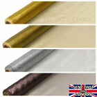 GOLD SILVER XMAS Organza Fabric 9 metres x 40cm Table Runners Swaging Gift wrap