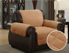 Furniture Covers Best Deals - QUILTED MICRO SUEDE PET DOG COUCH SOFA FURNITURE PROTECTOR COVER, KASHI, CAMEL