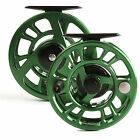 3 4 5 6 7 8 Weight Trout Fly Fishing Reel Stable Drag Feeling Green