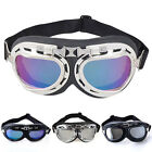 Fashion Motorcycle Bike Pilot Glasses Cruiser Helmet Scooter Aviator Goggles