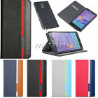 Flip Hybrid Leather Wallet Stand Card Case Cover For Samsung Galaxy Note 4 Edge