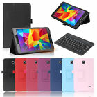 """For Samsung Galaxy Tab 4 8 8.0"""" T337 SM-T330NU Leather Stand Case Cover+Keyboard"""