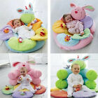 US Seller  Baby Inflatable Seat Baby Flower Play Mat Baby Game Pad Mat MO