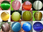 11 color Optional Sphere, Beautiful opal colored Crystal Balls 40mm + Stand