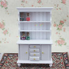 Show Cabinet Kitchen Dining Room Bedroom Cupboard Wood Dollhouse Miniatures 1:12