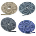 3mm ROUND WAX CORD 90cm LACES SHOE BROUGES THIN STYLISH BROWN BLUE ROPE VINTAGE