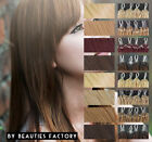 BF Straight Micro Bead Loop Ring Remy 100% Human Hair Extensions Blonde Brown