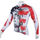 New American elements Cycling Clothing Sportwear Bicycle Long Sleeve Jersey Top