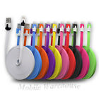 FLAT Sync Cable Lead USB Charger Bulk/Wholesale/Job Lot for iPhone iPads 5/5s/5c