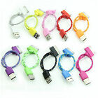 Braided Lead Sync data cable charger lead for iPhone 4 4G 3G Wholesales/ Bulk