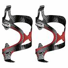 Ibera Bike Fusion Water Bottle Cage Pair - Rubber Grip Extra Light -NEW, BC12-PR