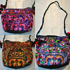 Hmong Tribal Ethnic Thai Indian Vintage Embroidered Shoulder Bag Thailand