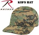 Kids Baseball Hat Camouflage Hat Adjustable Woodland Digital Camo Rothco 5651