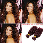 "10""-30""100g  JERRY CUR 99J# 100% BRAZIIAN UNPROCESSED HUMAN HAIR TOP HOT-STYLE!"