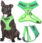 Dog Harness Soft Vest Control Training Adjustable Waterproof Padded S M FRIENDLY