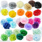 Paper Tissue Pom Poms 8' 10' 12' 14' 16' Wedding Party Festival Flower Pompom