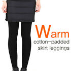 (Free shipping) Warm cotton-padded skirt leggings 2 Colors