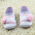 Baby girl white Crib Shoes soft soled  Size 0-6 6-12 12-18 months