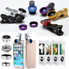 180°4in1 Fish Eye & Wide/Micro & Telephoto Lens Phote Kit for Android IOS Phones