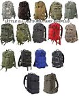 MEDIUM Tactical Military Level 3 Transport MOLLE Assault Pack Back pack 2584 #2