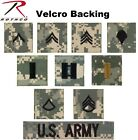 Acu Digital Camouflage Military Rank Rip-Stop Insignia Patch Made In The USA