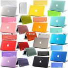 Laptop Protector Keypad Skin +Rubberized Hard Shell Case Cover for MAC Macbook