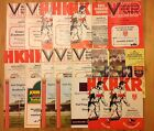 Hull Kingston Rovers Rugby League Programmes 1967 - 1987
