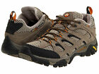 NEW IN BOX! MERRELL Mens Moab Ventilator Hiking Shoes Walnut Leather/Mesh J86595
