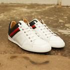 NEW Mens Dior Homme White Trainers Sneakers with Stripes GENUINE RRP 395