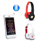Stereo Bluetooth Wireless Headphone Headset Mic For iPhone 5s 6 Plus IPad Tablet