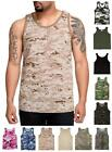 NEW! Rothco Solids and Camo Tank Tops; Poly Cotton 11 Styles!  Small - 2XL R8764