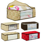Newly Cabinets Underbed Storage Duvet Clothes Bedding Pillows Bag Storage Boxes