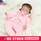 Handmade Lifelike Baby Girl Doll Soft Vinyl Reborn Newborn Dolls+Clothes