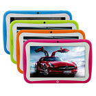 "7"" Android 4.4 KitKat Multi Touch 8GB Quad Core Tablet PC Kids Edition Gift Apps"